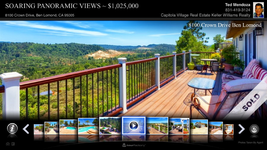 Panoramic Mountain Views, Single Level Home