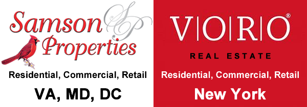 VORO Real Estate and Samson Properties logo