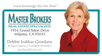 Milpitas Homes Real Estate Specialist Debbie Indihar Giordano Of