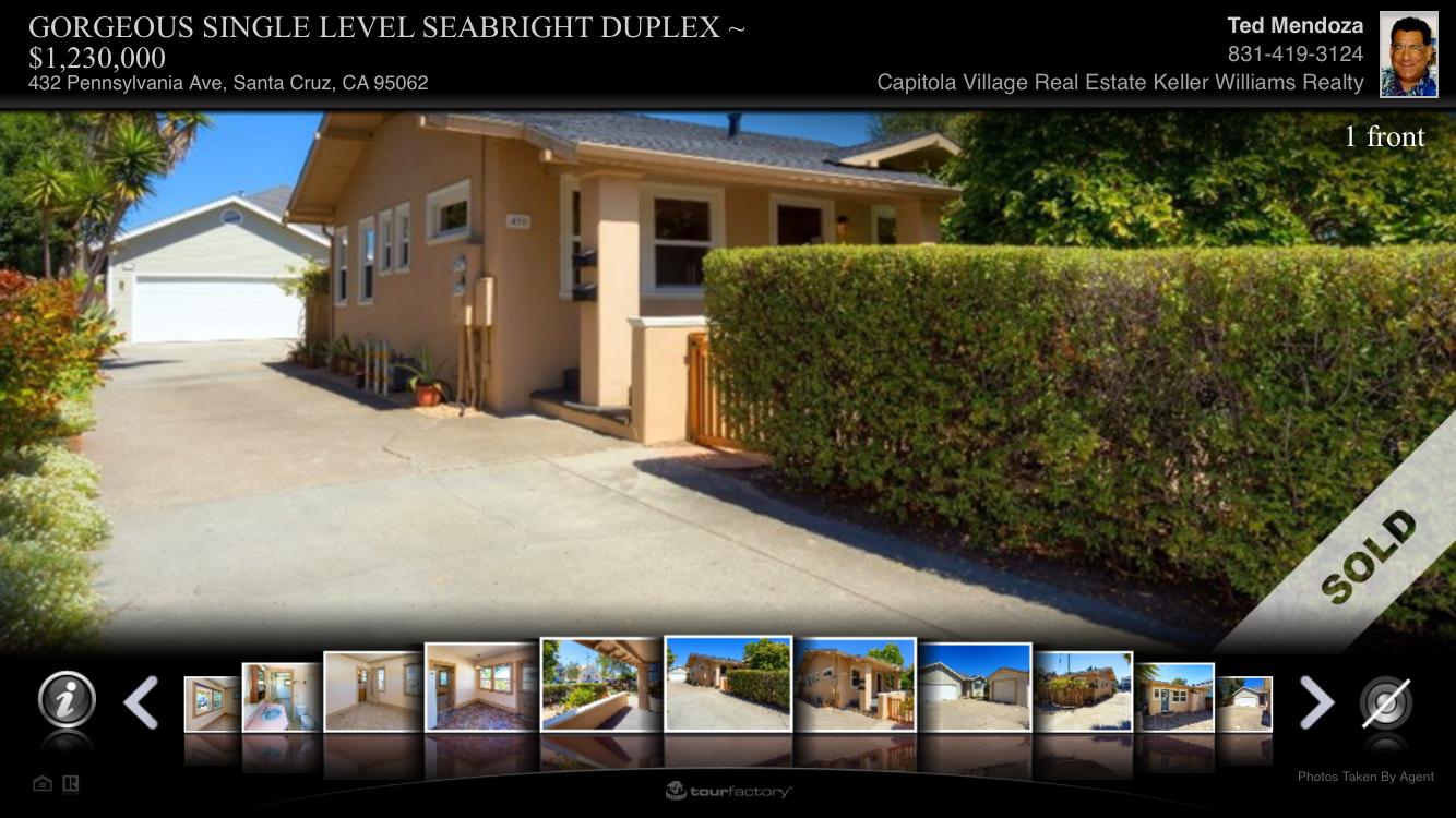 Santa Cruz Duplex, 2 Detached Homes