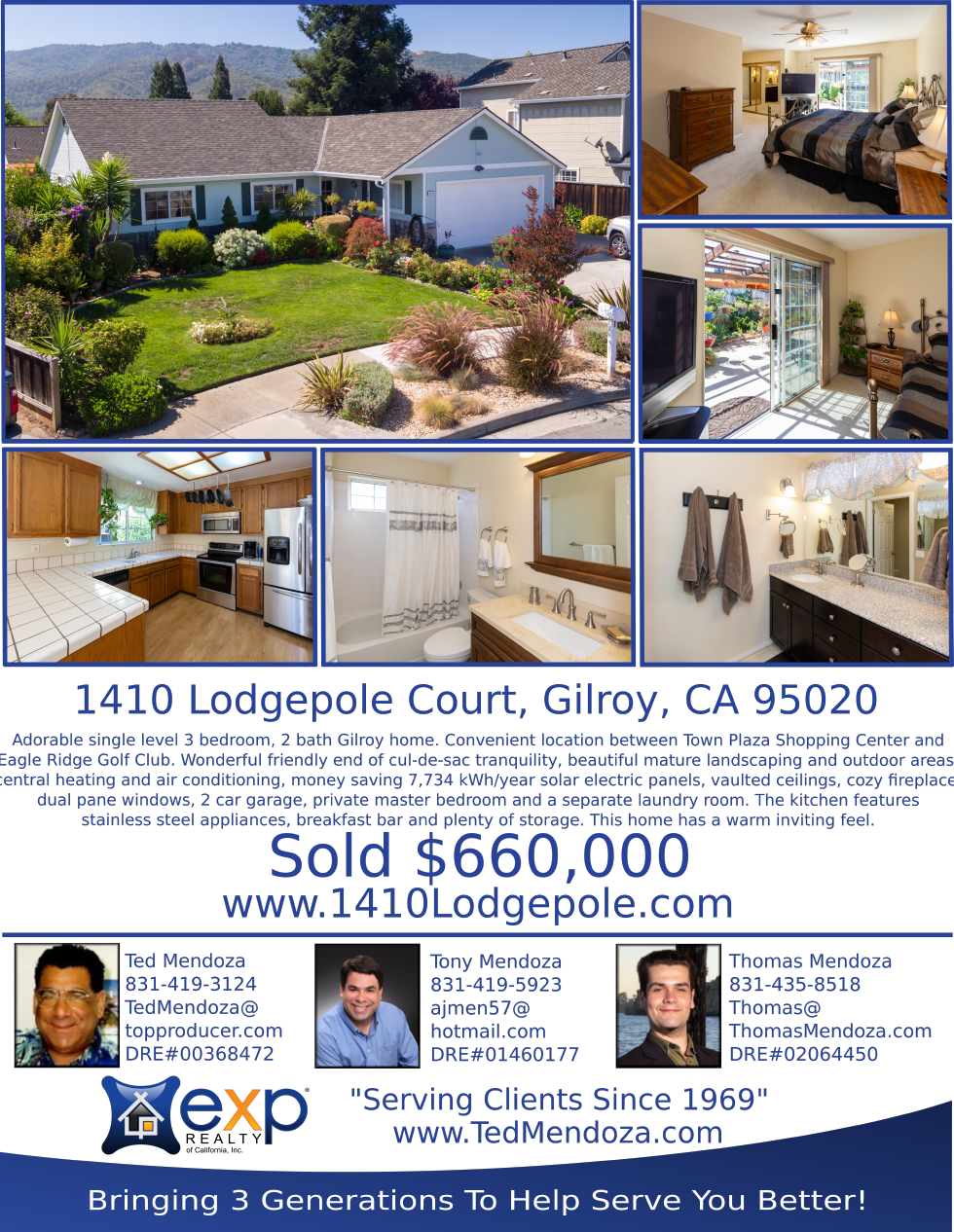 1410 Lodgepole Court, Gilroy, CA 95020