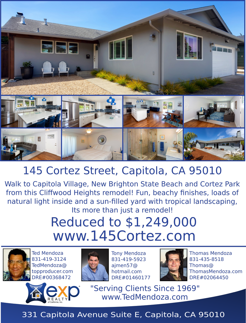 Price Reduced in Capitola